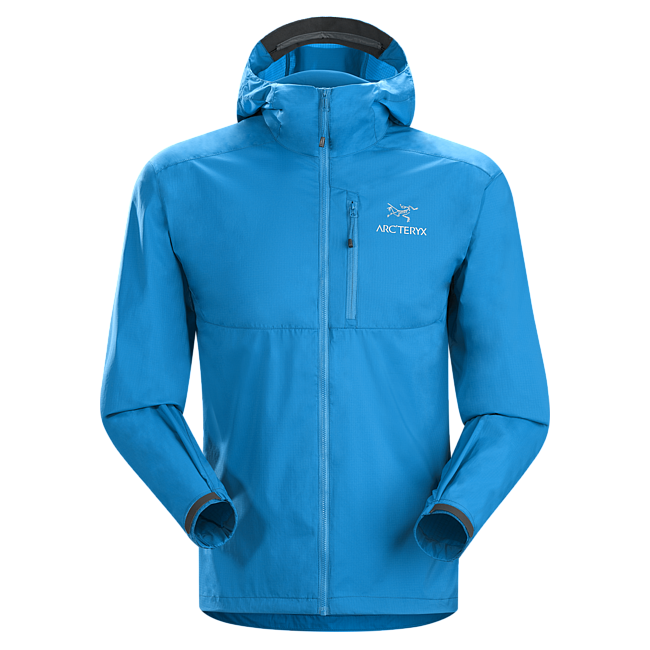 Cheap Arc'teryx SQUAMISH HOODY MEN'S Adriatic Blue Sale