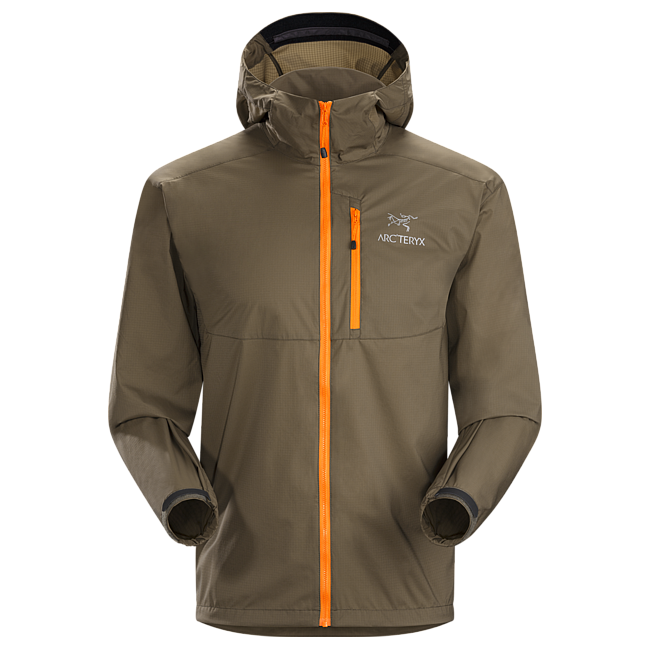 Cheap Arc'teryx SQUAMISH HOODY MEN'S Basalt Sale