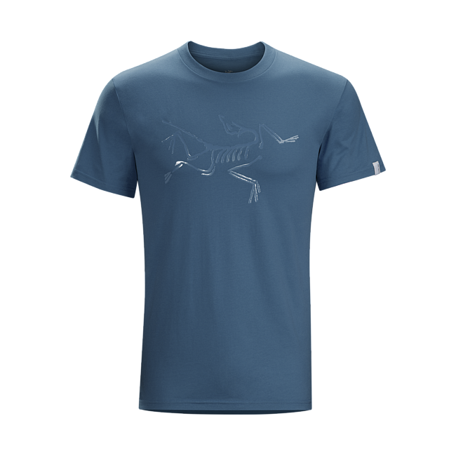 Cheap Arc'teryx ARCHAEOPTERYX T-SHIRT MEN'S SMU-Blue Smoke Sale