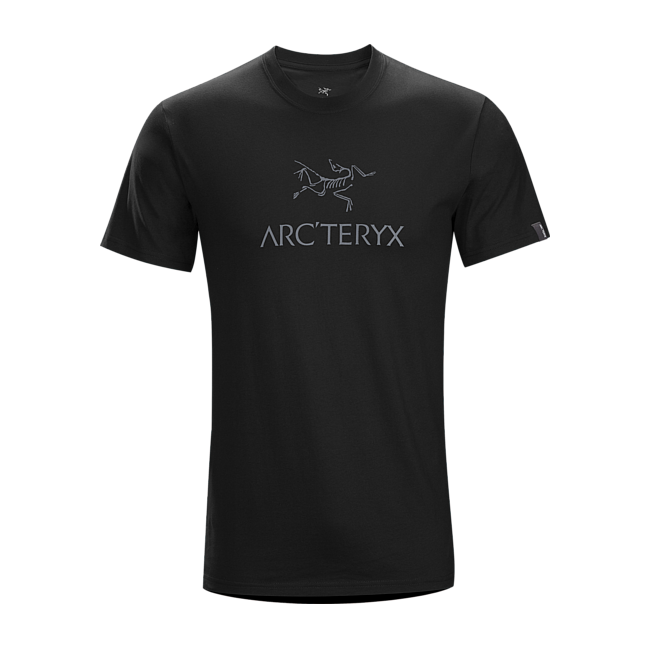 Cheap Arc'teryx ARC'WORD T-SHIRT MEN'S BLACK/​IRON ANVIL Sale