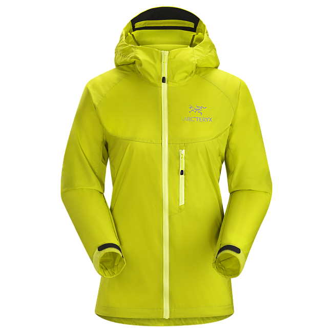 Cheap Arc'teryx SQUAMISH HOODY WOMEN'S Chartreuse Sale