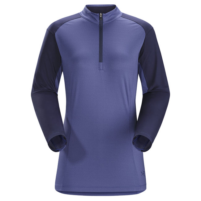 Cheap Arc'teryx SKEENA ZIP NECK LS WOMEN'S Allium Sale