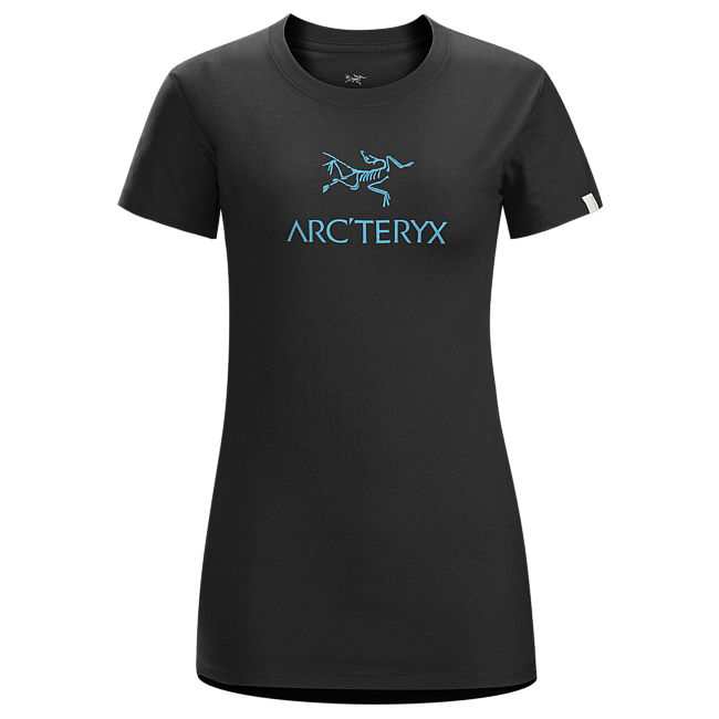 Cheap Arc'teryx ARC'WORD T-SHIRT WOMEN'S SMU-Black Sale