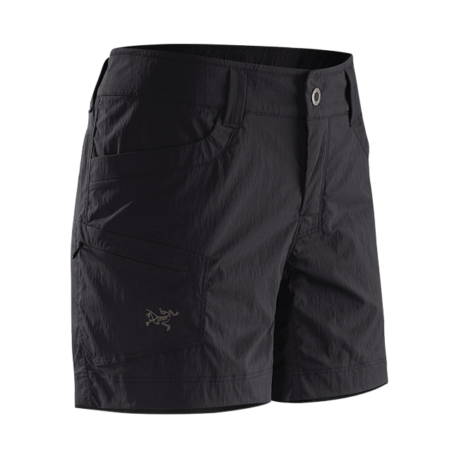 Cheap Arc'teryx PARAPET SHORT WOMEN'S Black Sale