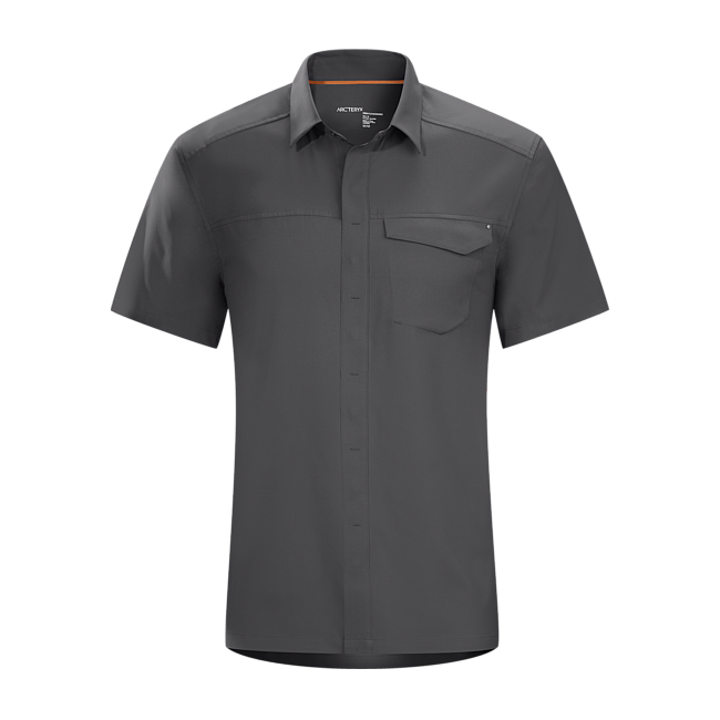 Cheap Arc'teryx SKYLINE SHIRT SS MEN'S Graphite Sale
