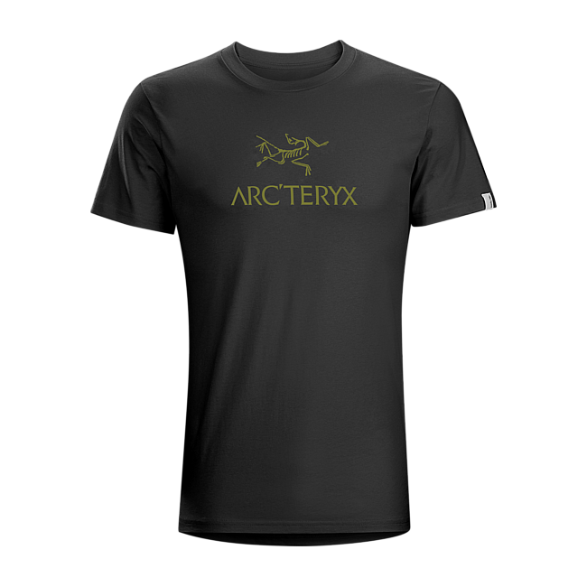 Cheap Arc'teryx ARC'WORD T-SHIRT MEN'S SMU-Black Sale