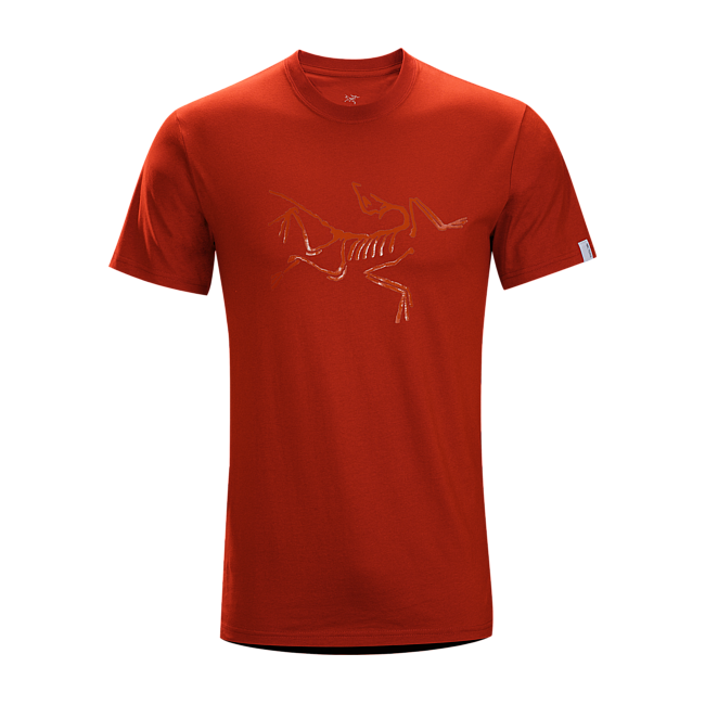 Cheap Arc'teryx ARCHAEOPTERYX T-SHIRT MEN'S SMU-Iron Oxide Sale