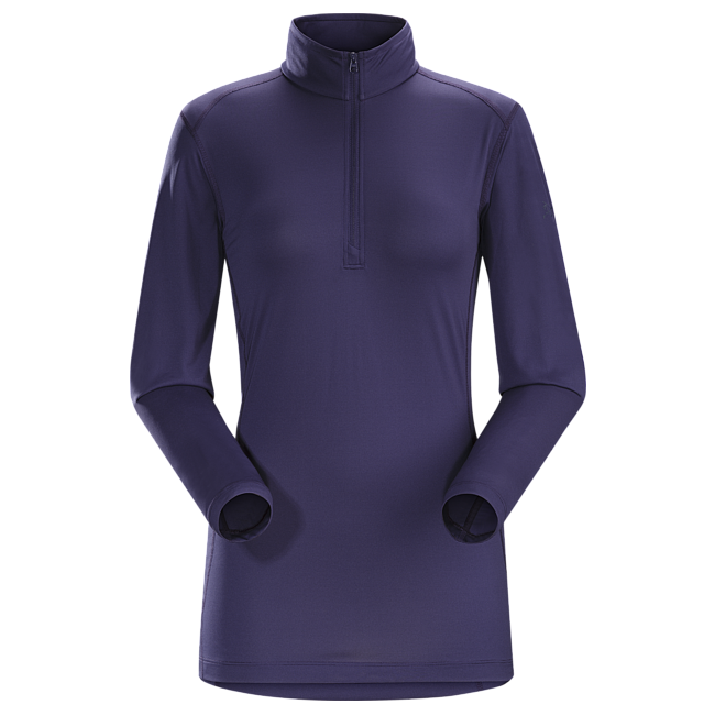Cheap Arc'teryx PHASE SL ZIP NECK LS WOMEN'S Marianas Sale