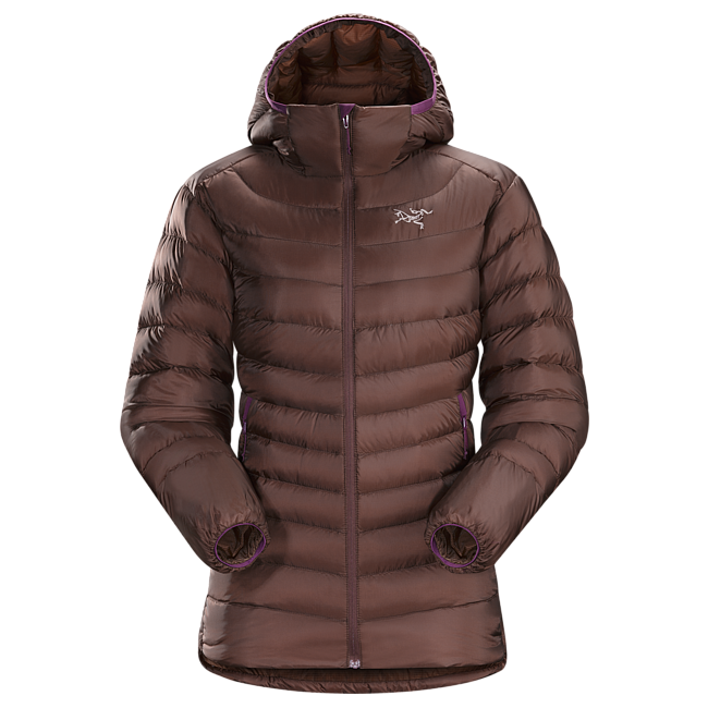 Cheap Arc'teryx CERIUM LT HOODY WOMEN'S Cherry Chocolate Sale
