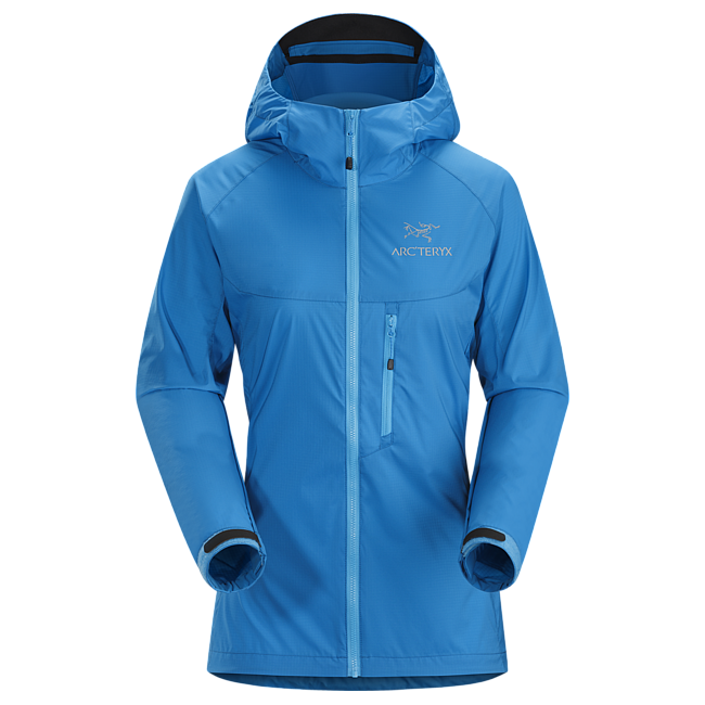 Cheap Arc'teryx SQUAMISH HOODY WOMEN'S Antilles Blue Sale