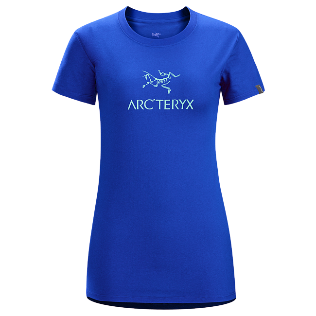 Cheap Arc'teryx ARC'WORD T-SHIRT WOMEN'S Somerset Blue Sale
