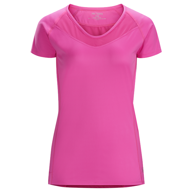 Cheap Arc'teryx KAPTA SHIRT SS WOMEN'S Rose Violet Sale